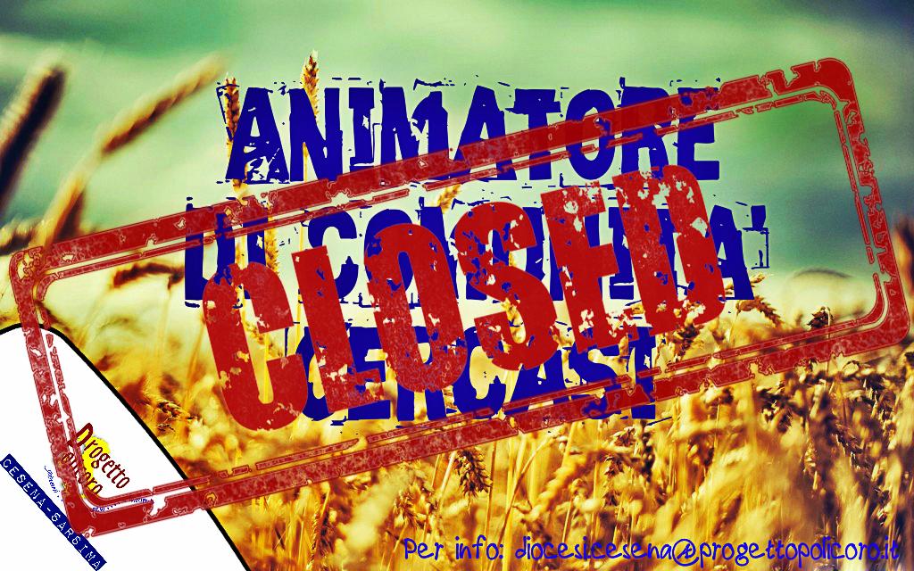 Animatore di comunità - Bando chiuso